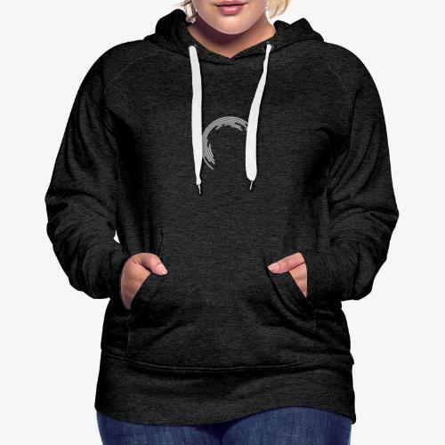 Geometrisches Design - Frauen Premium Hoodie