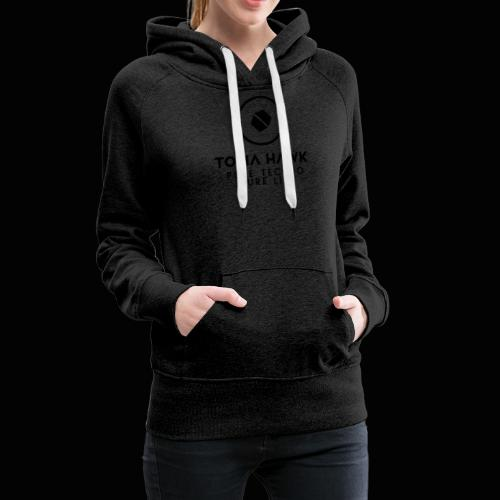 Toma Hawk - Pure Techno - Pure Life Black - Frauen Premium Hoodie