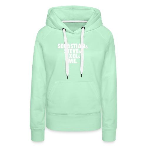 BEATSAUCE House Mafia T-shirt - Felpa con cappuccio premium da donna