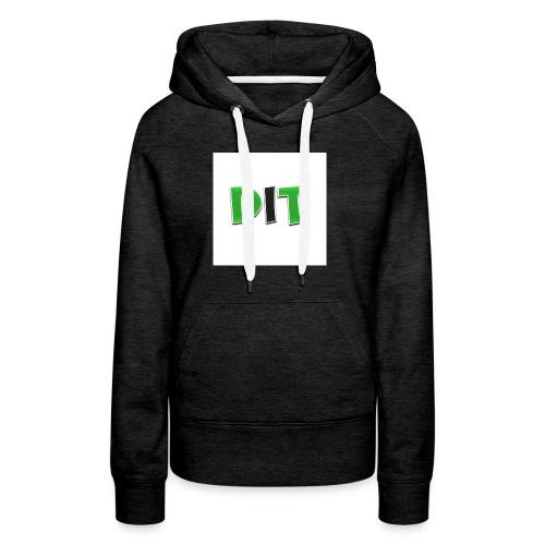 DaarIsTobias shirt korte mouwen - Vrouwen Premium hoodie