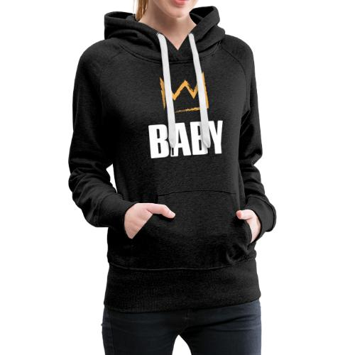 Baby mit Krone - Frauen Premium Hoodie