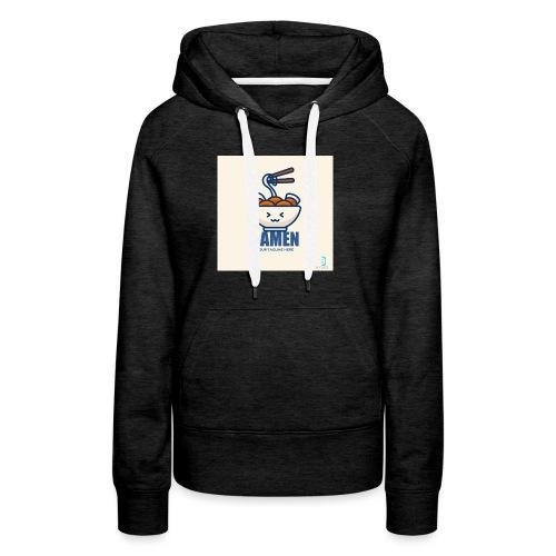 824AFAFE D856 4EED 8A0B 068FCEA34431 - Sweat-shirt à capuche Premium pour femmes