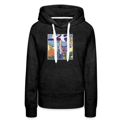 DODO - Sweat-shirt à capuche Premium pour femmes