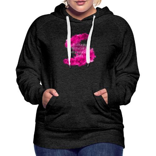 STAY COOL - Dame Premium hættetrøje