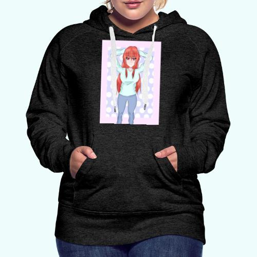 Sweet - Sudadera con capucha premium para mujer