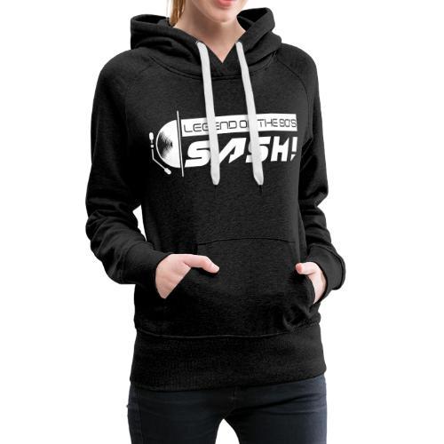 DJ SASH! Turntable Logo - Women's Premium Hoodie
