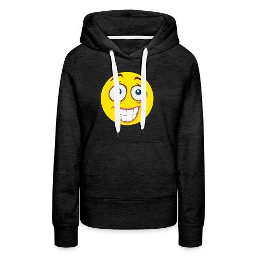 Gekke Smiley - Mannen - Vrouwen Premium hoodie