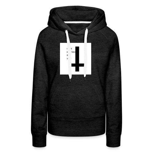 monsters in my head - Vrouwen Premium hoodie