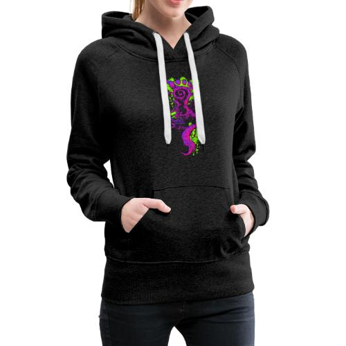 FootMoss purple - Women's Premium Hoodie