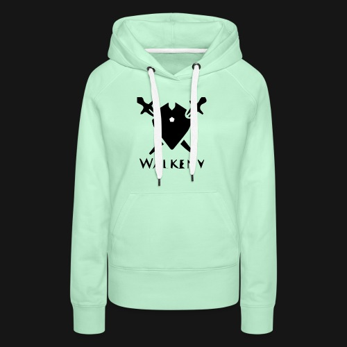 Walkeny Schwert Logo! - Frauen Premium Hoodie