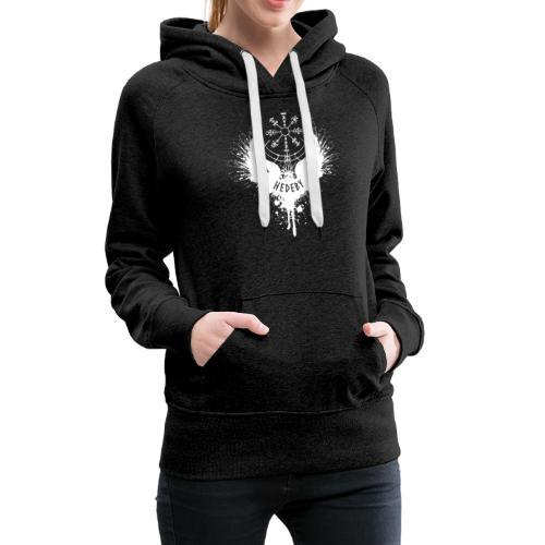 Wikinger Hedeby Vegvisir - Frauen Premium Hoodie