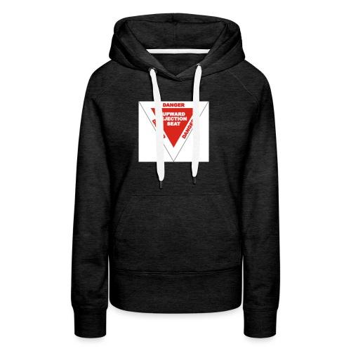 Danger Ejection Seat - Vrouwen Premium hoodie
