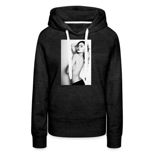 Hot babe b/w - Women's Premium Hoodie