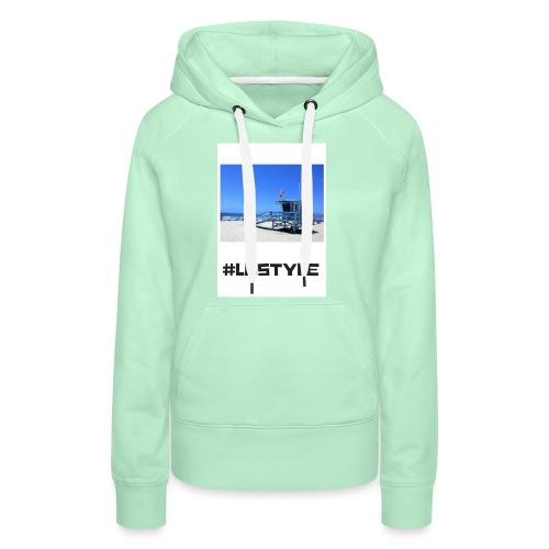 LA STYLE 2 - Women's Premium Hoodie
