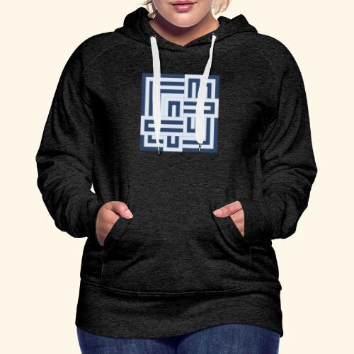 12017 - Sudadera con capucha premium para mujer