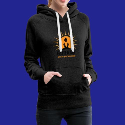 final nero con scritta - Women's Premium Hoodie