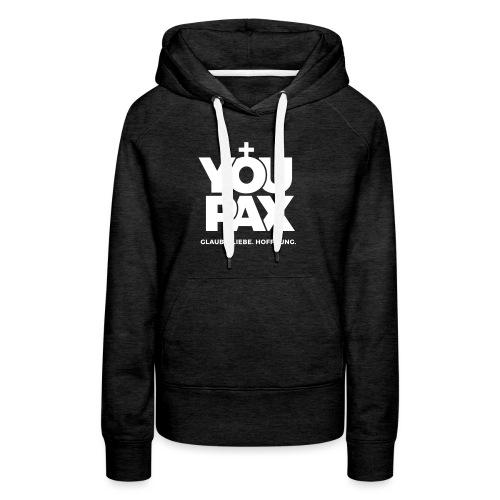 YOUPAX Logo sw - Frauen Premium Hoodie