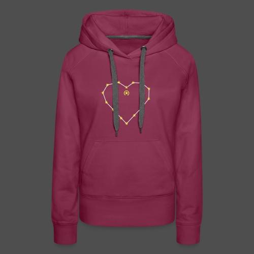 Herz 0HE01 - Women's Premium Hoodie