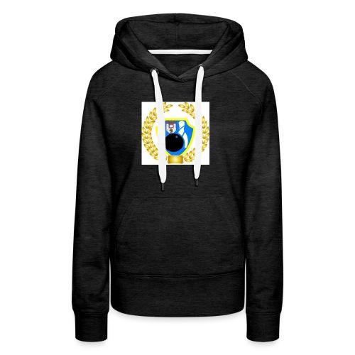 Wappen kranz - Frauen Premium Hoodie
