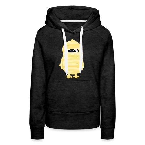 Pingouin Momie - Sweat-shirt à capuche Premium pour femmes