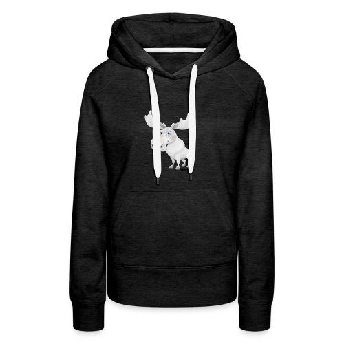 Albino eland - Vrouwen Premium hoodie