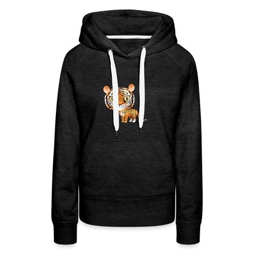 Tiger - Dame Premium hættetrøje