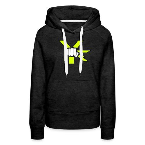 The Fist Logo - Frauen Premium Hoodie