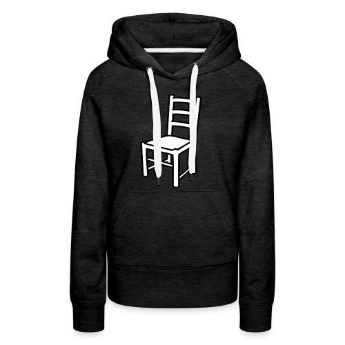 Une Chaise - Sweat-shirt à capuche Premium pour femmes
