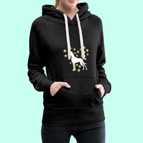 Sternenherz_Dogge - Frauen Premium Hoodie