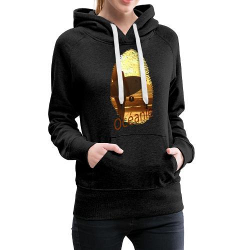 Océanie Pacifique Sud - Sweat-shirt à capuche Premium pour femmes