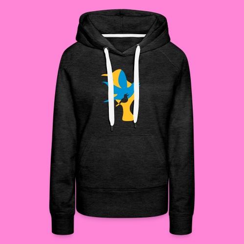 birds - Vrouwen Premium hoodie