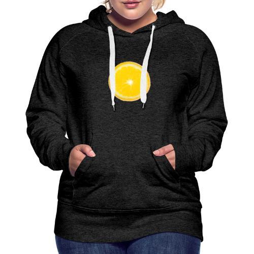 Orange - Frauen Premium Hoodie