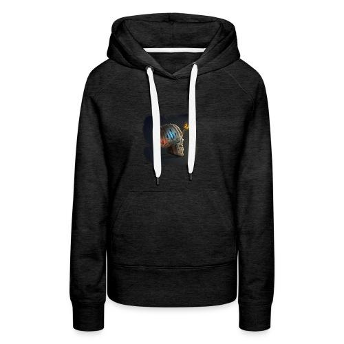 skulll - Sweat-shirt à capuche Premium pour femmes
