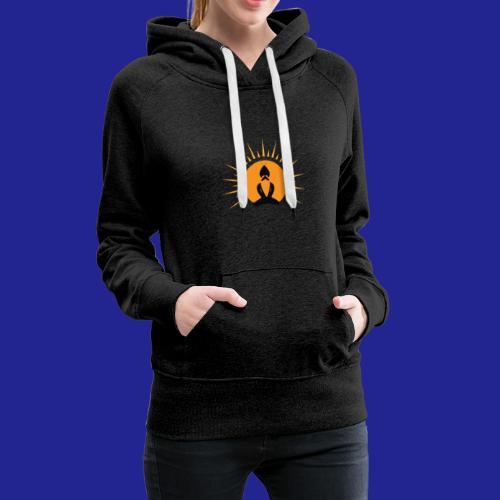 Guramylyfe logo no text black - Women's Premium Hoodie