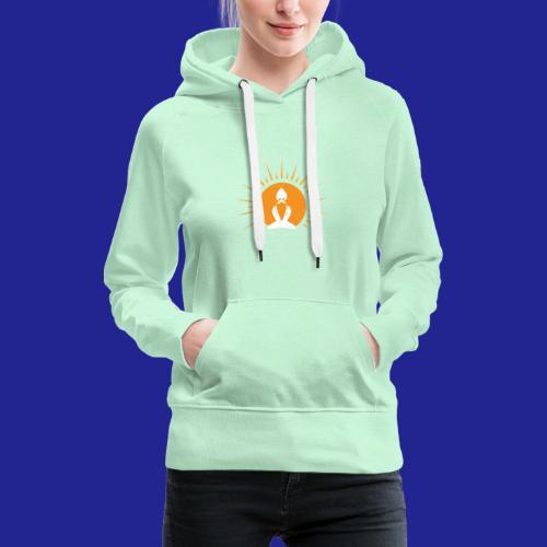 Guramylyfe logo white no text - Women's Premium Hoodie