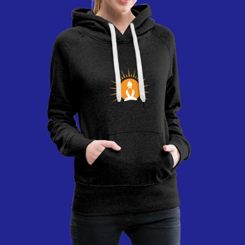 Guramylyfe logo white no text - Women's Premium Hoodie