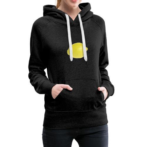 Zitrone - Frauen Premium Hoodie