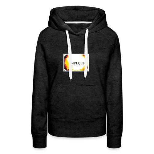 T SHIRT SIMPLY STYLE - Sweat-shirt à capuche Premium pour femmes