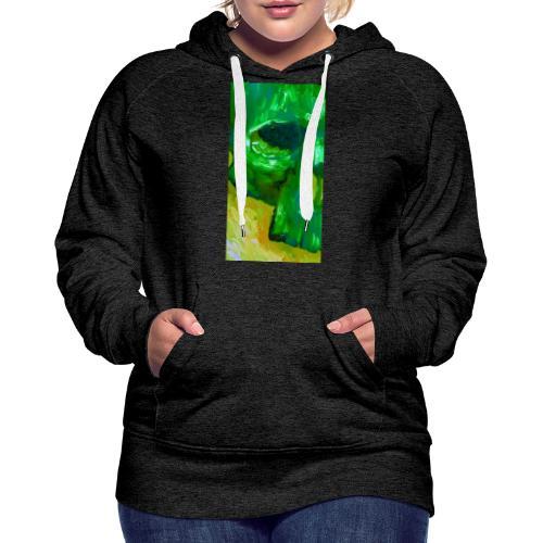 Green Skull #2 - Vrouwen Premium hoodie