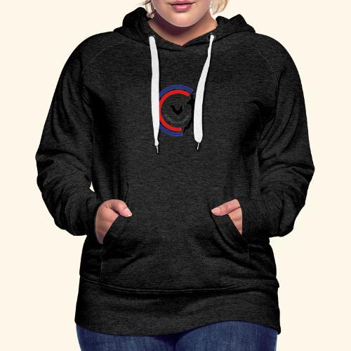 Le Golfeur Français - Sweat-shirt à capuche Premium pour femmes