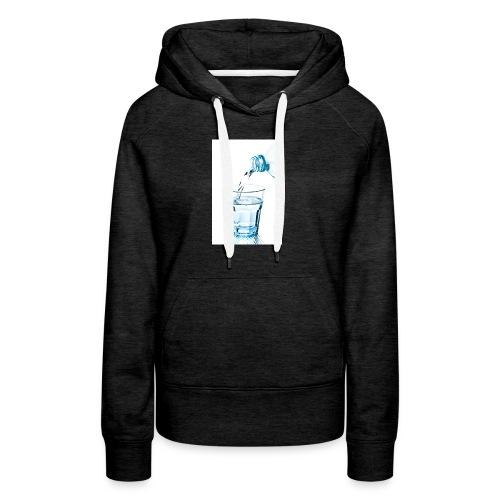 Glas-water-jpg - Vrouwen Premium hoodie