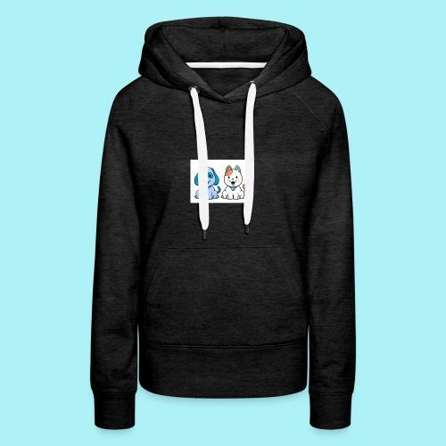 Pets animals - Sweat-shirt à capuche Premium pour femmes