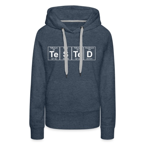 Te-S-Te-D (tested) (small) - Women's Premium Hoodie