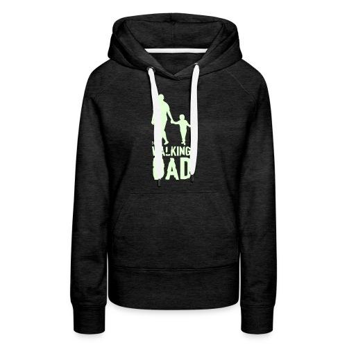 The Walking Dad - Women's Premium Hoodie