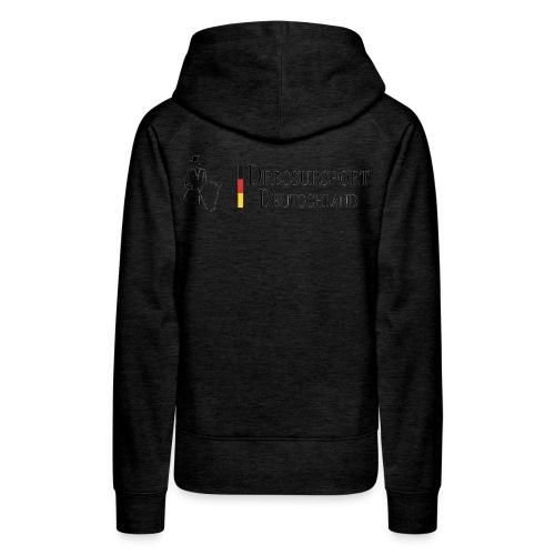 dressursport deutschland horizontal - Frauen Premium Hoodie