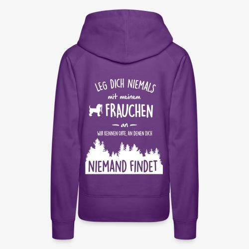 Mein Frauchen - Frauen Premium Hoodie