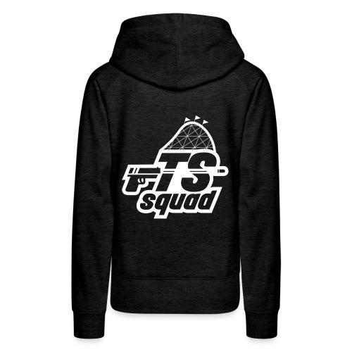 mathijs logo TS Wit png - Vrouwen Premium hoodie