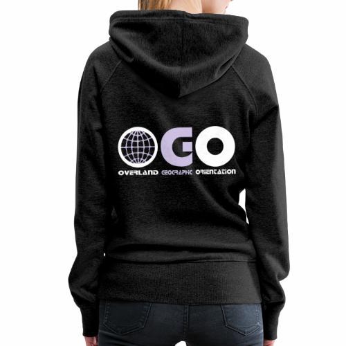 OGO-28 - Sweat-shirt à capuche Premium pour femmes