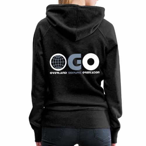 OGO-38 - Sweat-shirt à capuche Premium pour femmes