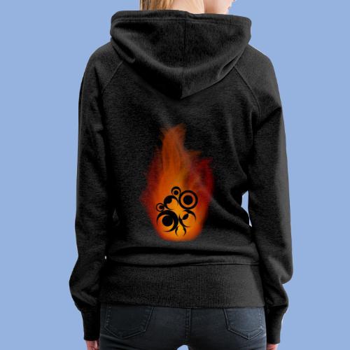 Should I stay or should I go Fire - Sweat-shirt à capuche Premium pour femmes